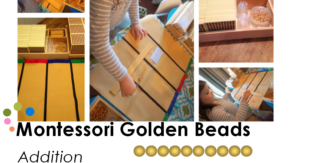 Montessori Golden Bead Addition When To on Making Montessori Ours Education Printables Bead