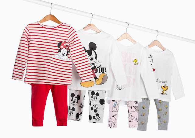 LEFTIES COLLECTION SLEEPWEAR BOYS & GIRLS AW 17