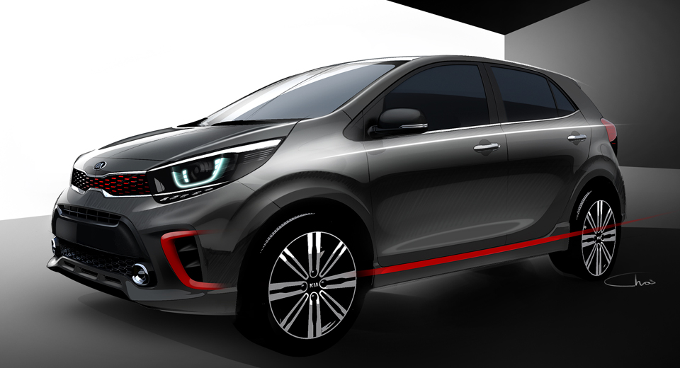 kia morning 2018.  morning kia releases first sketches of the allnew picanto on kia morning 2018