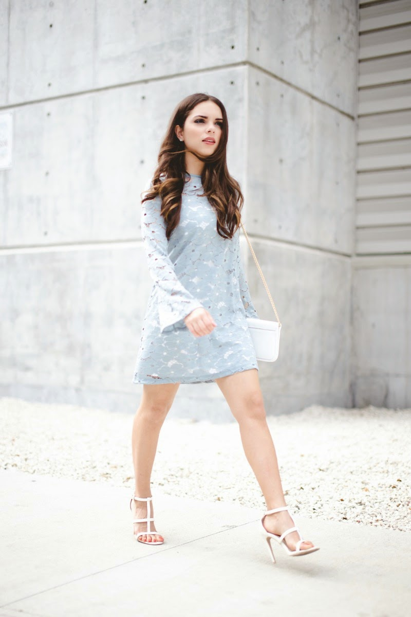 The pastel blue lace dress... | Nany's Klozet