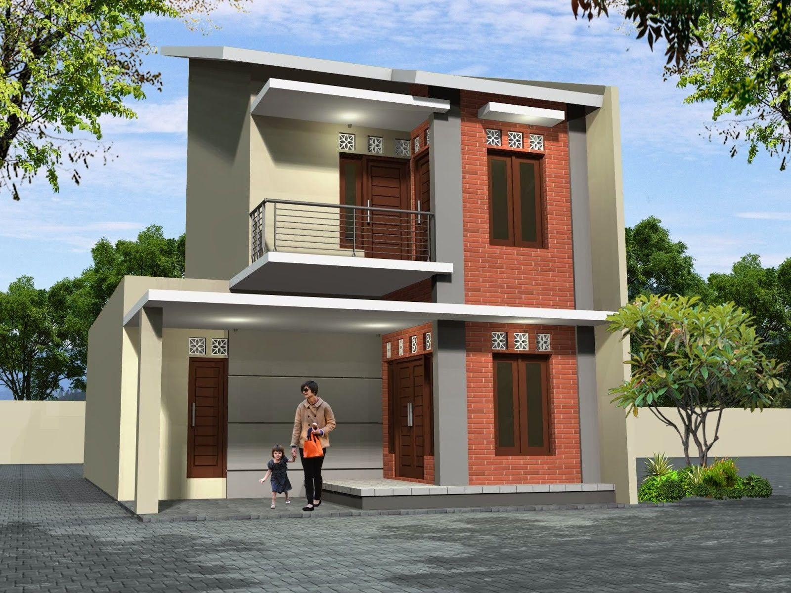 Contoh Rumah Minimalis Tingkat Dua Inspiratif
