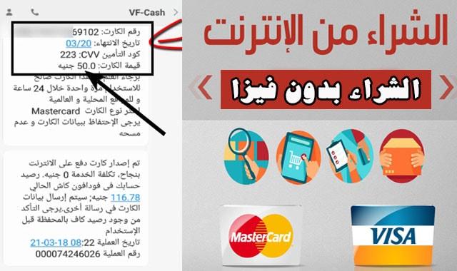 الشراء اون لاين بدون بطاقة فيزا : تعرف على كيفية الحصول على بطاقة فيزا مجانا