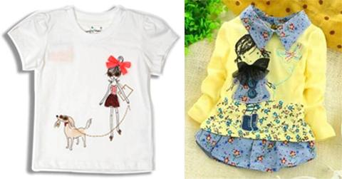 mode baju atasan anak