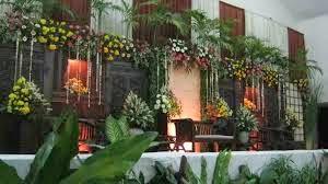 dekorasi pengantin sederhana