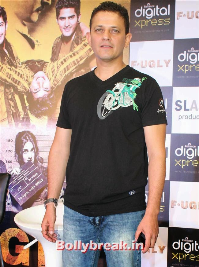 Kabir Sadanand, Akshay Kumar,  Vijender Singh, Jimmy Shergill at Fugly Movie Trailer Launch