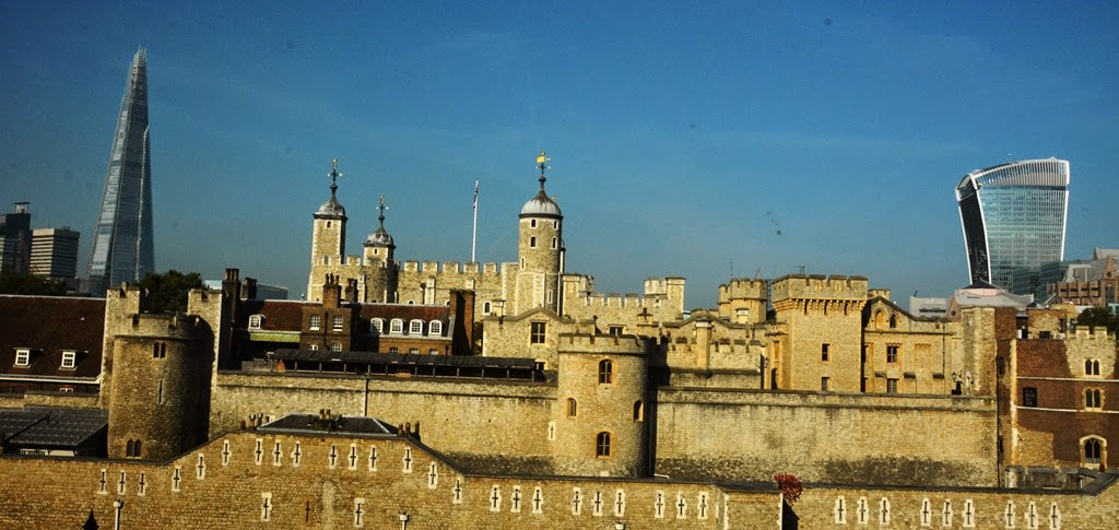 The Tower of London Chard Walkie Talkie