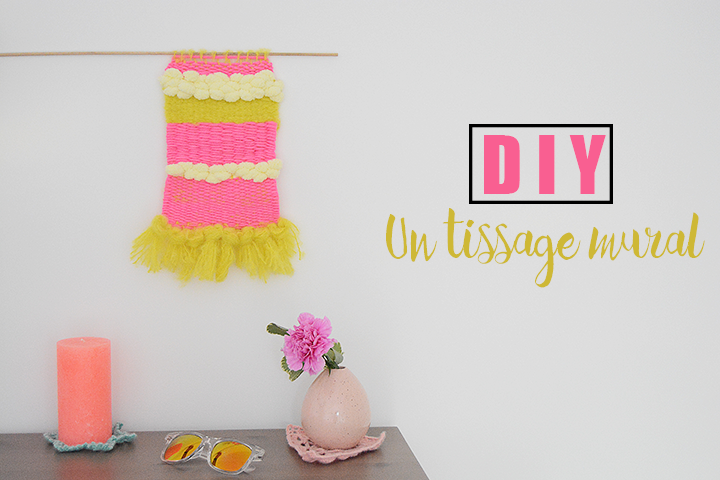 diy tissage mural facile