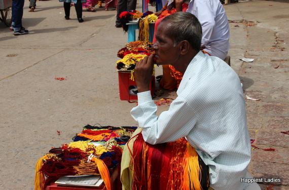 street vendors of india