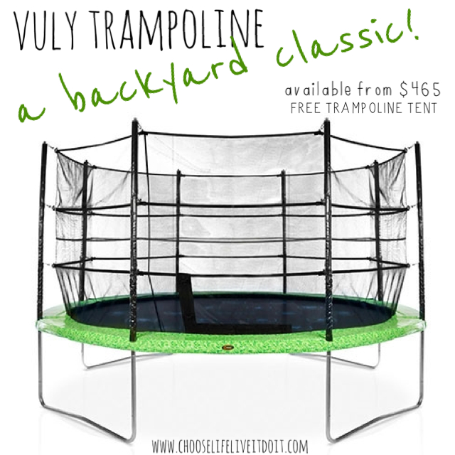 LIVE IT, DO IT!: TRAMPOLINES... YES WE HAVE TRAMPOLINES