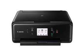scanner or photograph copier amongst multiple alternatives for connectedness Canon PIXMA TS6000 Driver Download