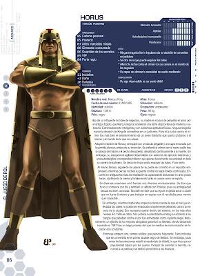 Superheroe Horus