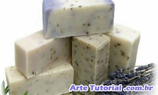 Reciclar sabonete artesanal