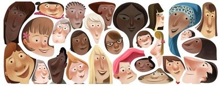 Perayaan Hari Wanita Sedunia Versi Google