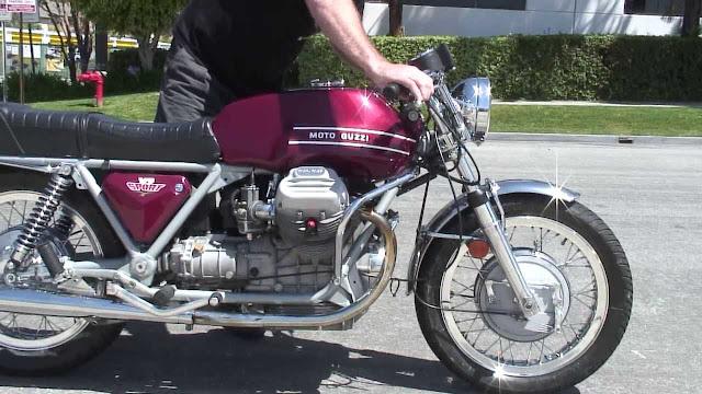 Moto Guzzi V7 Sport Tail Look
