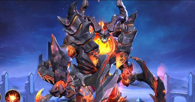 Hero Thamuz Mobile Legends, Sang Raja Lava Yang Sadis
