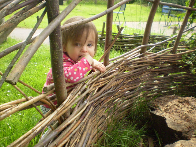 The eldest at forest school