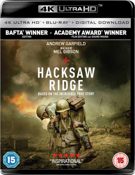 Hacksaw Ridge 4K (Hasta el Último Hombre 4K) (2016) 2160p 4K UltraHD HDR BluRay 36GB mkv Dual Audio Dolby TrueHD ATMOS 7.1 ch