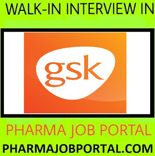GlaxoSmithKline Pharmaceuticals Limited Walk In interview M.Sc, B.Sc, B.Pharm - Apply online