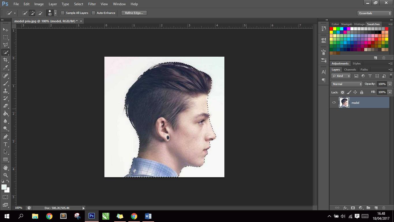 Cara Membuat Siluet Di Photoshop cs6 - SMK LABOR TERDEPAN ...