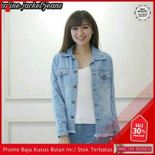 RRC155R34 Ralien Jacket Jeans Wanita Terbaru BMGShop