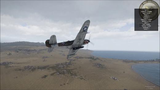 Arma 3に第二次大戦を移植したMODでP-39 Airacobra