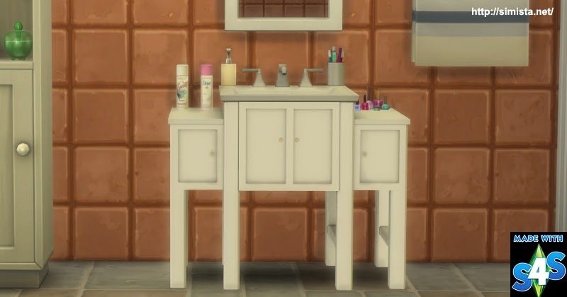Fancy Sink Simista A Little Sims 4 Blog