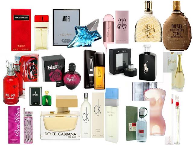 Perfumes que nops seduzem