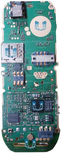 Nokia 2330 Classic Full Pcb Diagram Mother Board Layout