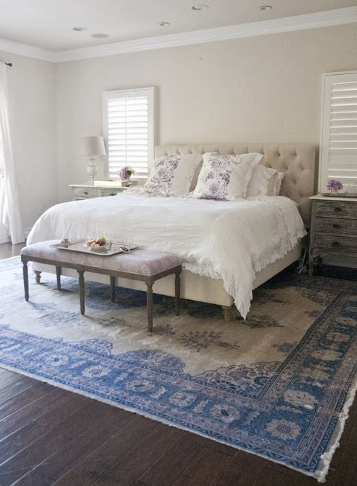 Updating Our Master Bedroom: Phase One New Rug - Designer ...