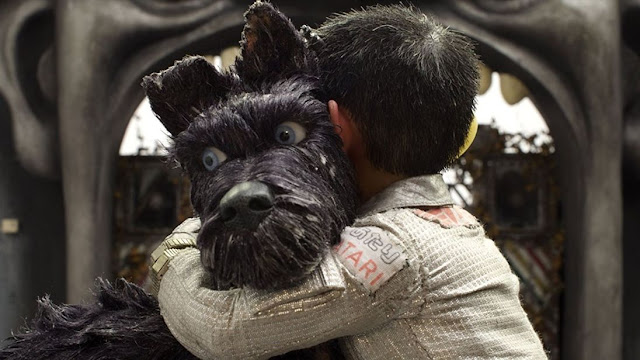 Isle of Dogs Review - Projected Film