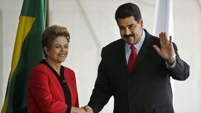 Venezuela retira su embajador y congela sus lazos con Brasil