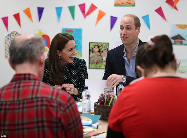 Kate i William w Evelina London i The Passage Charity