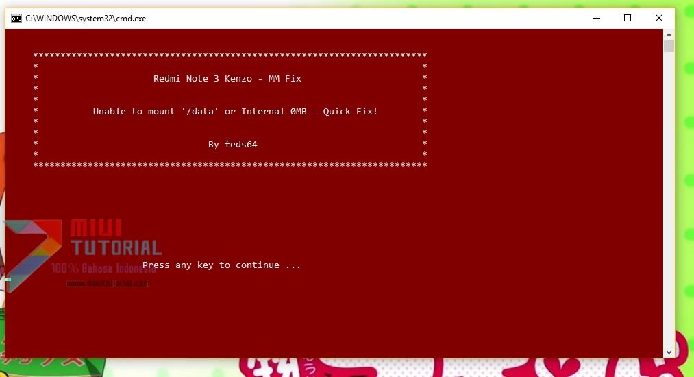 Gagal Mount Data? Internal Storage 0MB? TWRP Minta Password