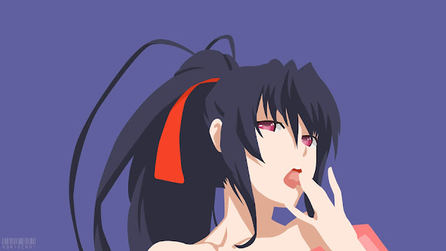 Akeno Himejima wallpaper