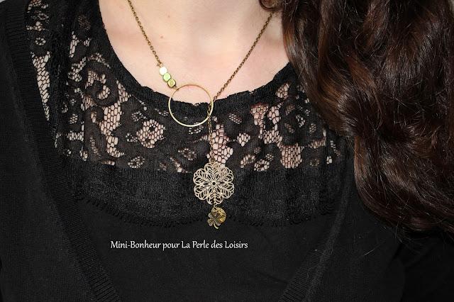 DIY, tuto, bijoux, collier, sautoir, st partick day's, vert, la perle des loisirs