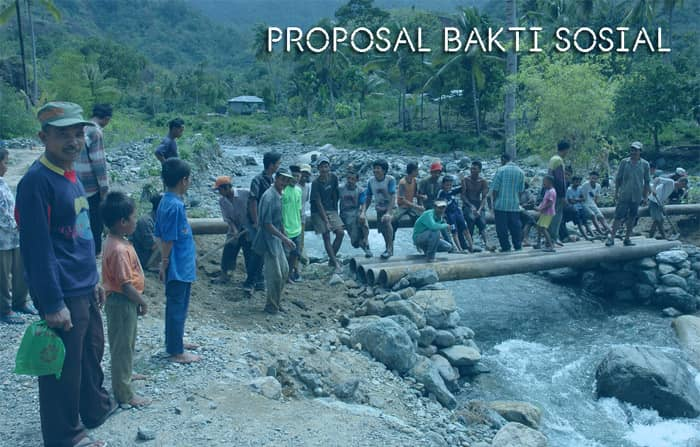Proposal Gotong Royong dan Bakti Sosial di Lingkungan Masyarakat