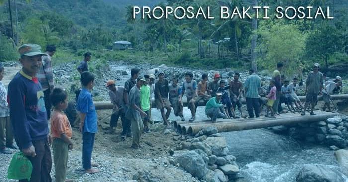 Proposal Gotong Royong Dan Bakti Sosial Di Lingkungan Masyarakat Kosngosan