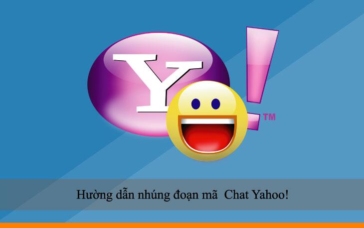 Hường dẫn nhúng đoạn mã  Chat Yahoo!