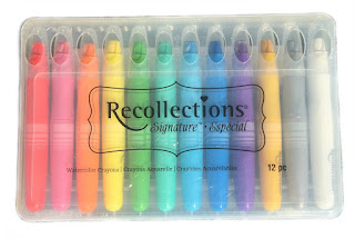 Recollections Shimmery Watercolor Crayons