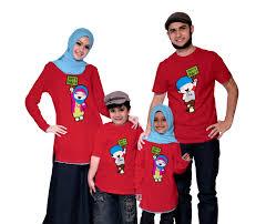 Model Kaos Seragam Keluarga untuk Liburan Terbaru