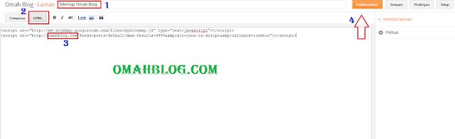Cara Membuat Sitemap SEO Friendly Pada Blog