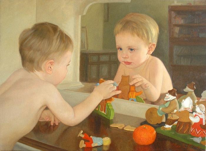 Tatiana Deriy 1973 | Esthetic Realism painter
