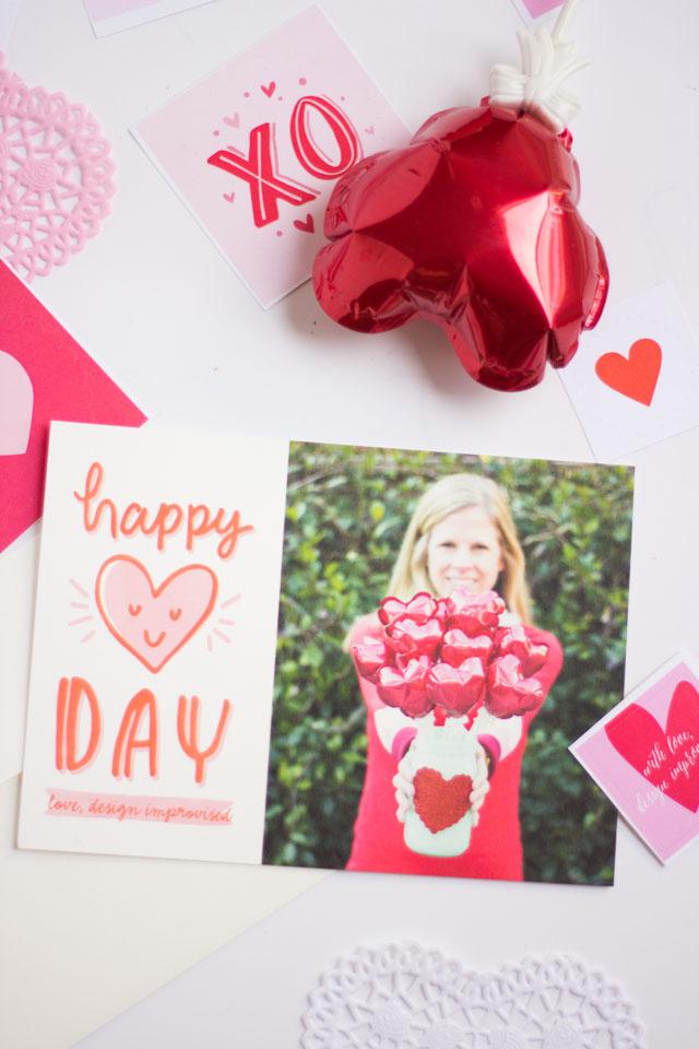 DIY PomPom Valentines Box – Box Valentine Cards