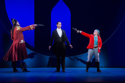 Ashly Riches, David Webb, Lucy Schaufer - ENO - The Pirate of Penzance - photo Tom Bowles