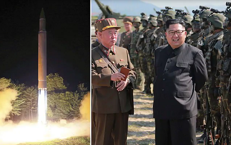 Kim Jong Un of North Korea Launches New Missile, Japanese  Panicked