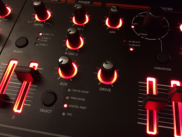 MATRIXSYNTH: SynthGraphics Roland JD-XA Front Panel Overlays in Matt