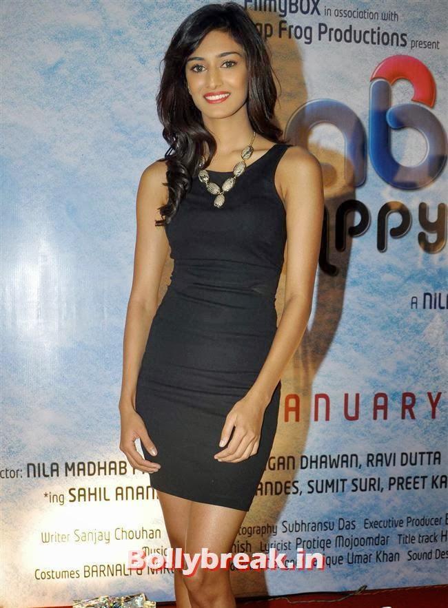Erica Fernandes, Reyhna Malhotra at 'Babloo Happy Hai' Audio Launch