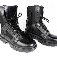 Jual Sepatu PDL Banser Warna Hitam