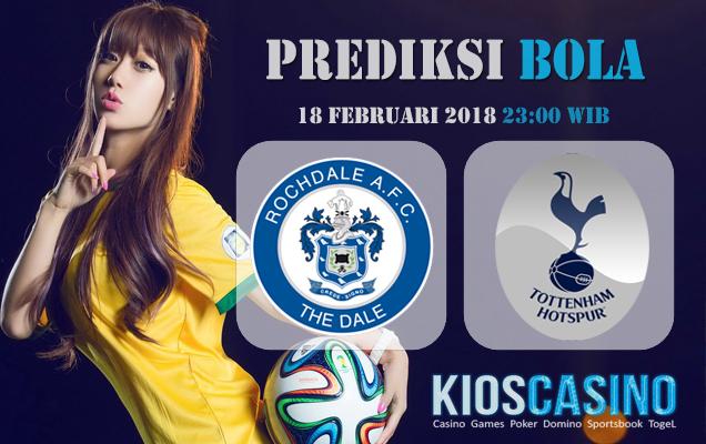 Prediksi Rochdale vs Tottenham Hotspur 18 Februari 2018