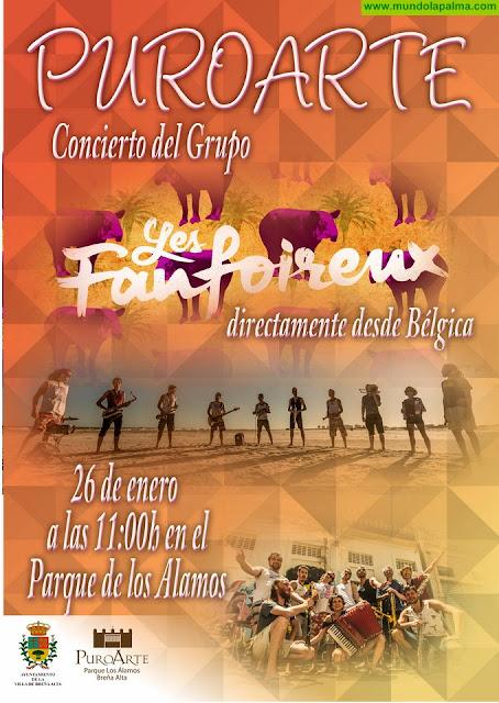 Breña Alta acoge este sábado la XII siembra tradicional con arado y una nueva edición de Puro Arte con 'Les Fanfoireux'